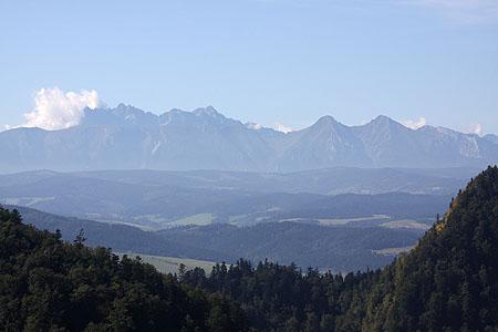 Wysokie Skałki, Wysoka (1050 m n.p.m.) - lato 2011